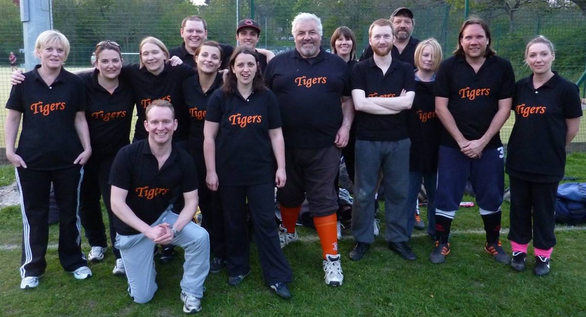Tigers Softball First league game 2011