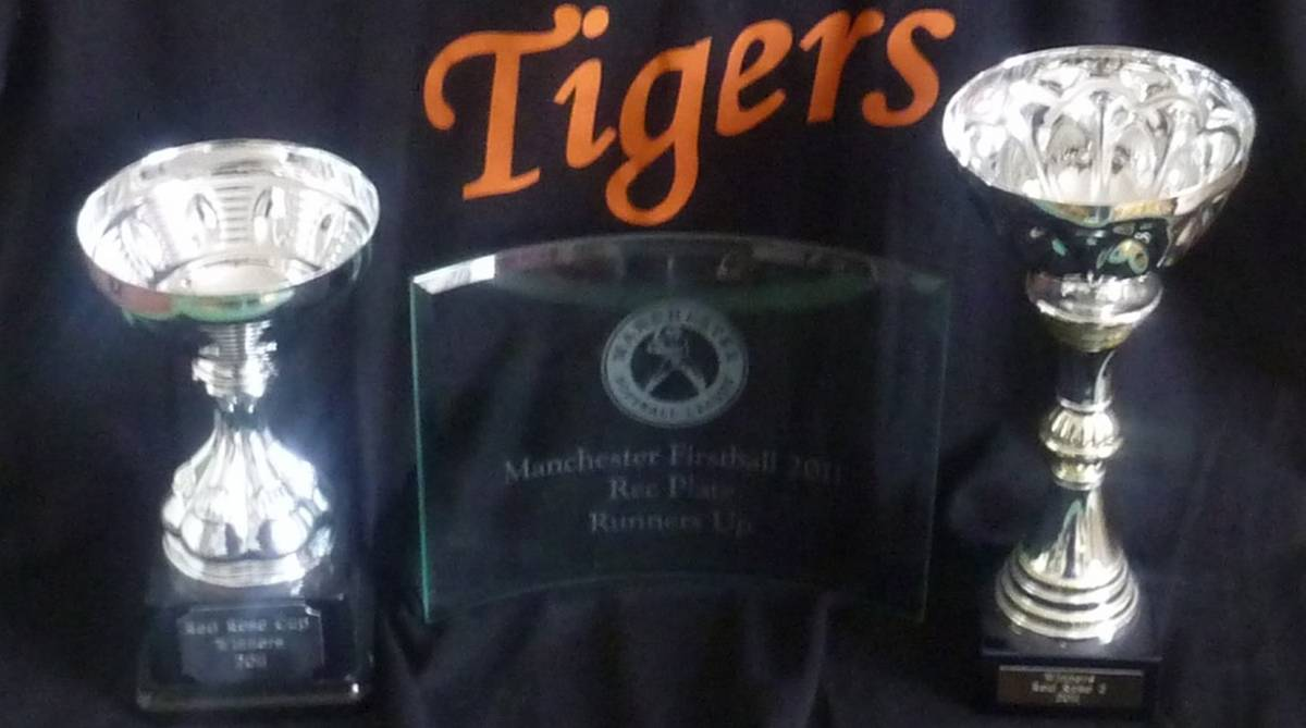 Tigers Softball Trophies 2011